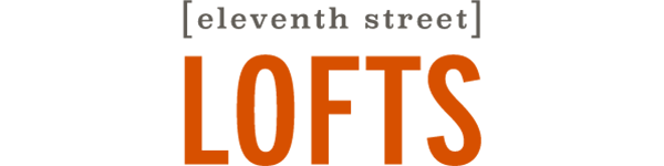 Main logo for 11th Street Lofts